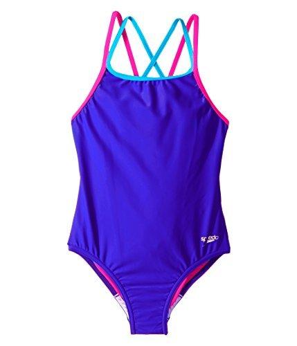Speedo Criss Cross One Piece Swimsuit Speedo Swimwear