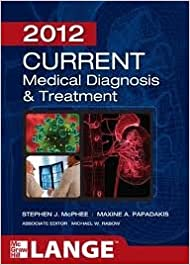 Book CURRENT Medical Diagnosis and Treatment 2012, Fifty-First Edition (LANGE CURRENT Series)