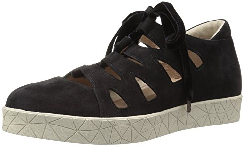 Beautifeel Women's Cava Ballet Flat, Black Suede, 37 EU/6-6.5 M US