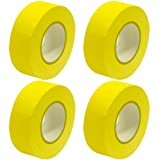 Seismic Audio - SeismicTape-Yellow602-4Pack - 4 Pack of 2 Inch Yellow Gaffer's Tape - 60 yards per Roll