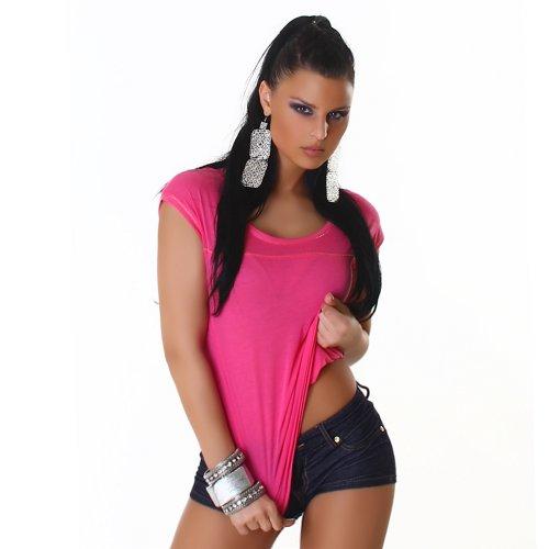 nummer-zwoelf - Camiseta sin mangas - redondo - para mujer Rosa