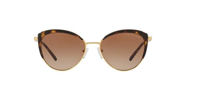 Michael Kors 0MK1046 Gafas de sol, Gold, 56 para Mujer ...