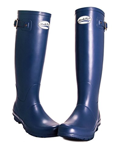 ROCKFISH Matt Navy Wellies Original Our Tall rtr6wT