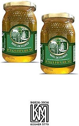 La Celda Real - 1kg - Miel Pack 2 tarros: Miel Mil Flores - Tarro de cristal - Aroma Floral y Sabor Rico y Dulce - 100% Natural: Amazon.es: Alimentación y bebidas