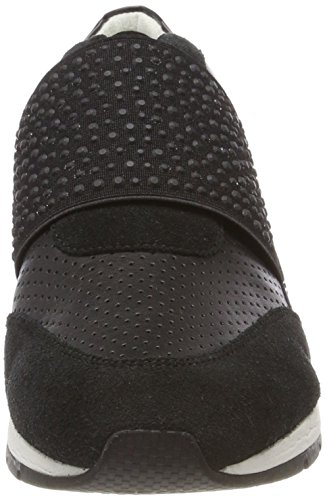 Geox Shahira Basses Black Sneakers Femme Noir A AU4gAnxqr