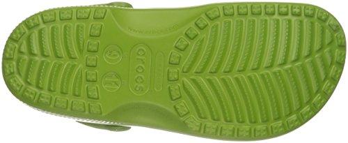Crocs Classic, Mixte Adulte Sabots, Vert (Parrot Green), 45-46 EU