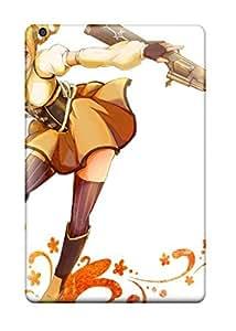 For Ipad Case, High Quality Mahou Shoujo Madoka Magica Tomoe Mami Anime For Ipad Mini/mini 2 Cover Cases