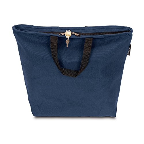 Hopkins Medical Products Lockable PHI Carrier: Chart/Binder with Combo Lock - Royal Blue