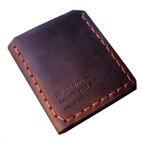 The Secret Life Of Walter Mitty Men's Handmade Wallet Genuine Leather Bifold Wallet