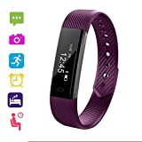Review of UpBeauty Fitness Activity Tracker Smart Band Waterproof Digital Display Buckle Health Wristband Smart Watches for iOS Android Phone