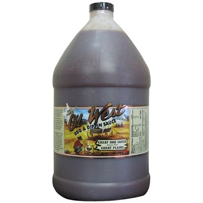 Big John's Ol' West BBQ & Dippin Sauce - Case of Gallon (Barbecue Sauce Case)