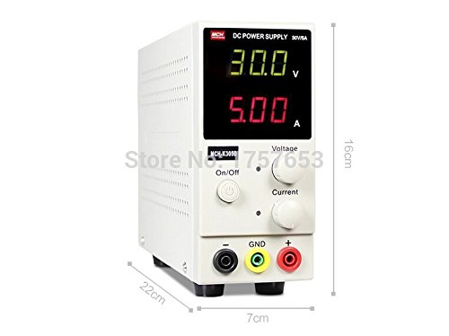New MCH-K305D Mini Switching Regulated Adjustable DC Power Supply SMPS Single Channel 30V 5A Variable MCH K305D by Generic (Image #2)