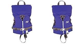 Stearns Infant Classic Series Vest FLnlwL, 2 Pack (Blue)