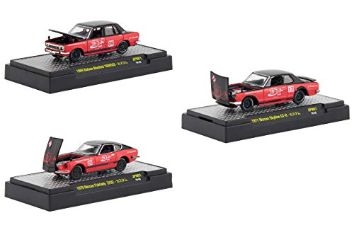 - Japan Release Coca-Cola Set of 3 Cars Limited Edition to 9,600 Pieces Worldwide Hobby Exclusive 1/64 Diecast Models by M2 Machines 52500-JPN01