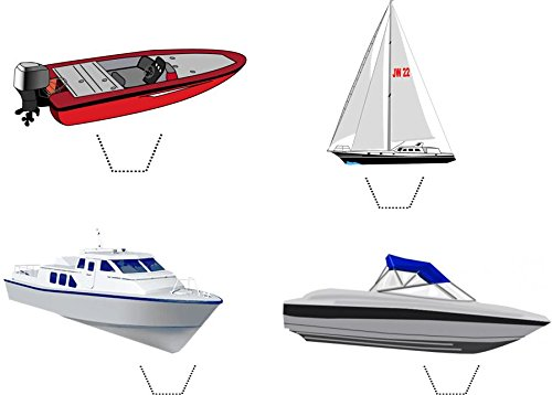 Novelty Boat / Yacht Mix 12 Edible Stand up wafer paper for sale  Delivered anywhere in USA