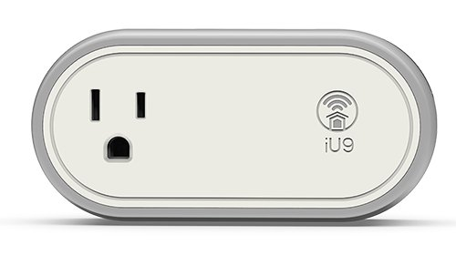 Opro9 iU9 Smart Power Outlet with WIFI - Works with Apple HomeKit - by Apple Siri voice control - - Amazon.com