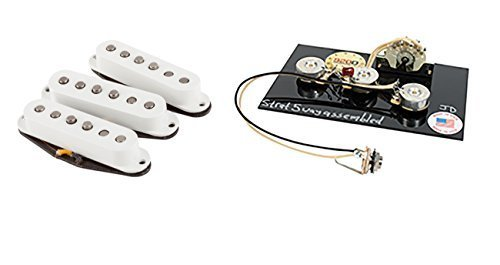 Fender Custom Shop '69 Stratocaster Pickup Set Plus 5 Way Wiring harness