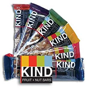 Kind Bars Variety Pack - 16 Bars (4 x 4 Flavors).