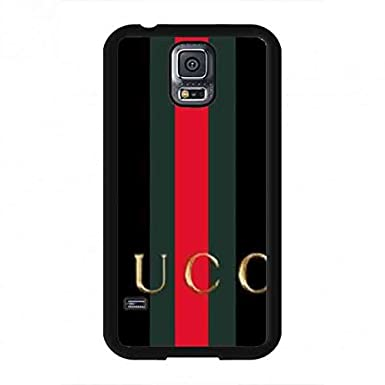 online retailer 28c31 c7163 Black Gucci Logo Phone Case For Samsung Galaxy S5 Gucci Phone Case ...