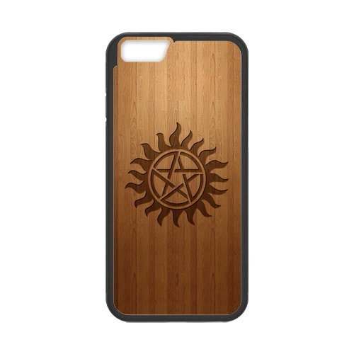 Fayruz- Personalized Protective Hard Textured Rubber Coated Cell Phone Case Cover Compatible with iPhone 6 & iPhone 6S - Supernatural F-i5G724