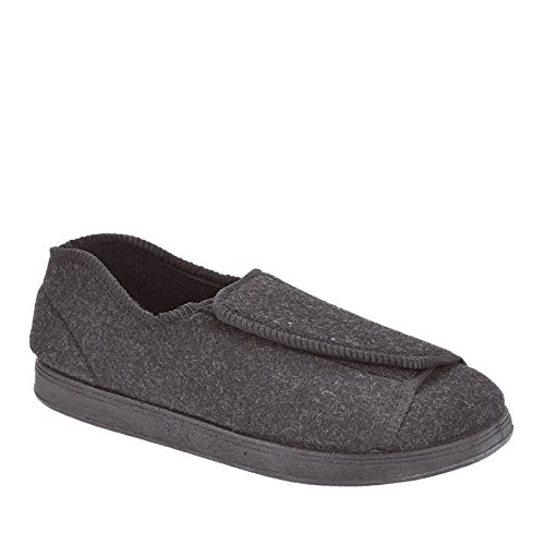 Women's Charcoal Slippers Foamtreads Nancy Wool RBwPqdt