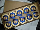 Sealed Box of 200 USAF Europe USAFE Patches - Color by HighQ Store