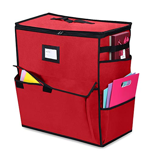 (ProPik Unique Holiday Storage Organizer for Gift Bag and Wrapping Accessories)