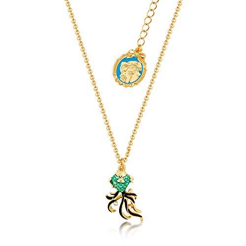 (Disney Couture Little Mermaid Ariel Fish Pendant Necklace)