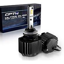 OPT7 880 (892 890 899) Ultra Glow LED Fog Light Bulbs - 6000K Lighting White @ 1,400 Lm per Bulb - Free Warranty (Pack of 2)