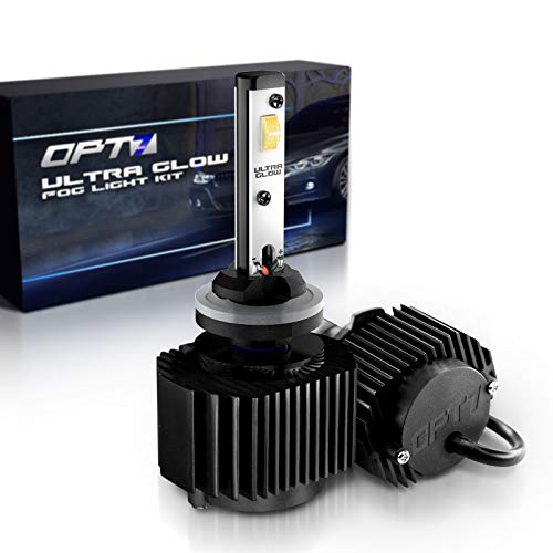 - OPT7 880 (892 890 899) Ultra Glow LED Fog Light Bulbs - 6000K Lighting White @ 1,400 Lm per Bulb - Free Warranty (Pack of 2)