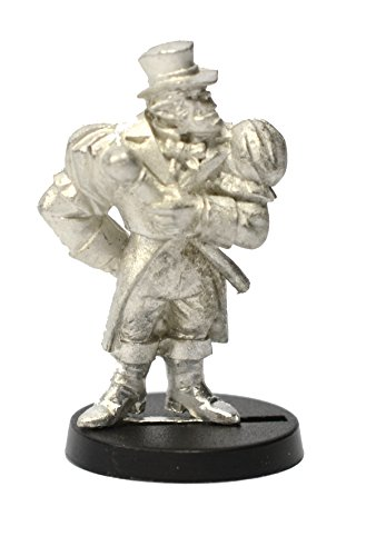 (Stonehaven Half-Orc Nobleman Miniature Figure (for 28mm Scale Table Top War Games) - Made in USA)