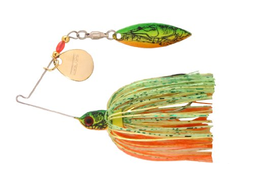 Booyah BYPM36-718 Pond MagicSpinnerbait 3/16-Ounce Okie Craw (Pond Fishing compare prices)