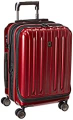 The Helium Titanium Collection from Delsey Paris is designed for the modern traveller. This lightweight and durable collection is made of 100% polycarbonate with a matte metallic finish to prevent against scratches. This international carry o...