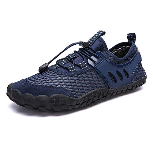 Leobtain Mens Water Sports Shoes Barefoot Quick-Dry Aerobics Lightweight Swim Thick Sole Pool Beach Swim Hiking Jogging…