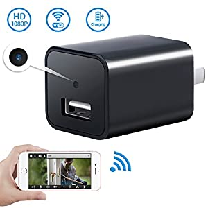 1080P WiFi Mini Charger Camera