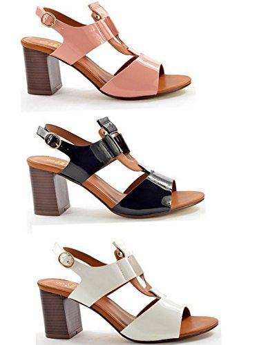 Foster Footwear - Zapatos con correa de tobillo mujer blanco