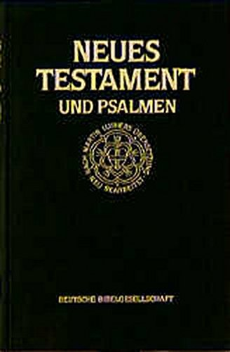 Bibelausgaben, Das Neue Testament und die Psalmen (Nr.2802) Großdruck-Testament