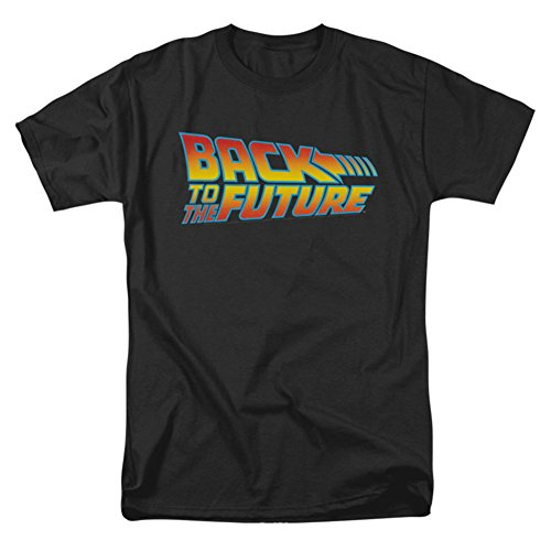 Back To The Future Men's Logo T-shirt Black