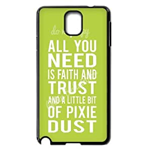DIY Phone Case for Samsung Galaxy Note 3 N9000, Faith and Trust Cover Case - HL-705121