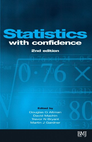 Statistics with Confidence: Confidence Intervals and Statistical Guidelines (Book with Diskette for Windows 95, 98, NT)