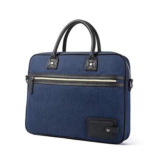 Lianaic Laptoptasche Business Aktentasche Laptoptasche Oxford Tuch Multifunktions 15 Zoll Handtasche Folder Männer Schulter Reisetasche