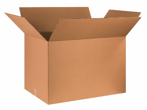 Aviditi 362424 Corrugated Box, 36'' Length x 24'' Width x 24'' Height, Kraft (Bundle of 5) by Aviditi