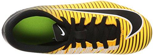 Nike Jr Mercurial Vortex Iii Fg, Botas de Fútbol Unisex Bebé Naranja (Laser Orange/Black/White/Volt)