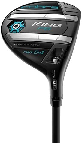 2018 Cobra Golf Women s King F8 Fairway, Black Lexi Blue