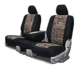 Custom Fit Seat Covers For Toyota Tacoma Bench Seat - Neoprene & Conceal Camo Fabric