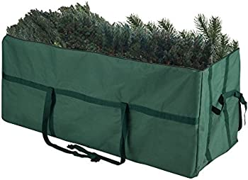 Elf Stor Heavy Duty Canvas Christmas Storage Bag for 9 Foot Tree