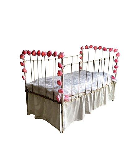 DREAM TADA Little Girls Room Decor - Crib Tent LED   Girls Canopy Reading Tent Lights   Rose Lights for Canopy Curtain (Pink Rose LED Lights) by DREAM TADA (Image #5)