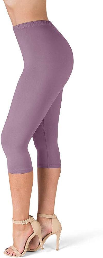 "SATINA High Waisted Ultra Soft Leggings | 1"" Waistband | 22 Colors"