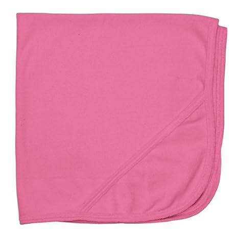 Orgánico de punto tejido de rizo toalla para bebé con capucha, color rosa: Amazon.es: Bebé
