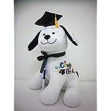 Graduation Autograph Stuffed Dog W/Pen - Congrats Grad!